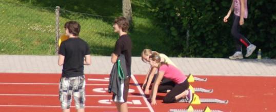 Leichtathletiksportfest Klassen 7 und 8