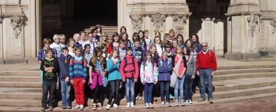 Schüler aus Bad Windsheim besuchen Schwarzenberg