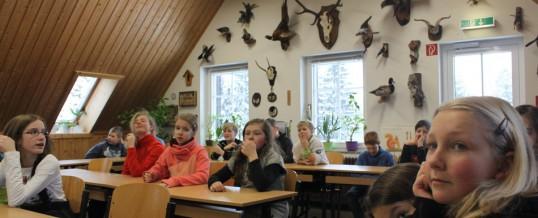 Biologieexkursion zur Conradswiese