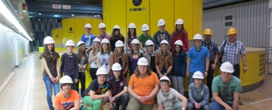 Exkursion zum PSW Markersbach