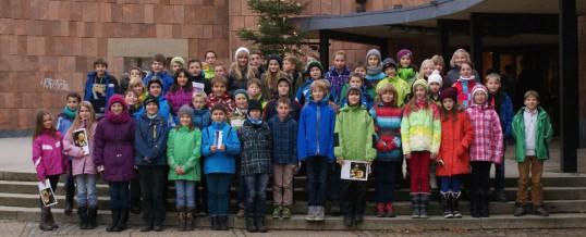 Klasse 5C im Dezember 2013