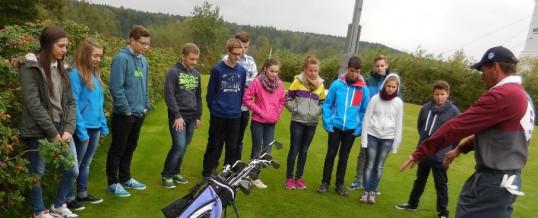 Golfausflug der Klasse 9a