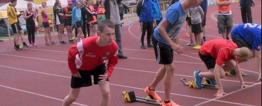 Vorausscheid Leichtathletik Wettkampf