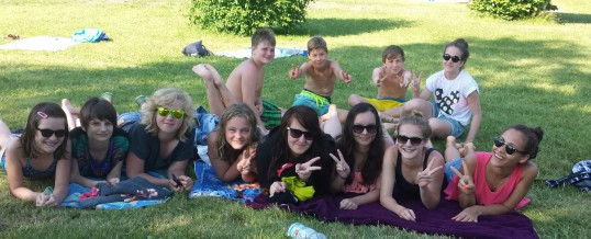 Schwimmbadbesuch der Klasse 07B