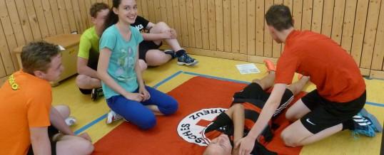 Erste-Hilfe-Tag der Klassen 5B und 8C