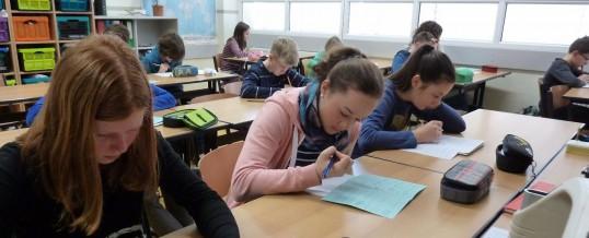 """Das """"mathematische Känguru"""" – traditionell an unserem  Bertolt-Brecht-Gymnasium"""