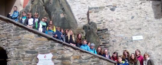 Exkursion zur Burg Stein nach Hartenstein