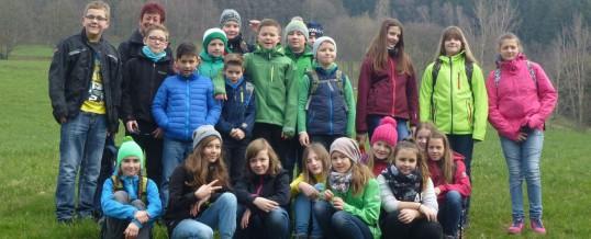 Unser Wandertag zur Köhlerhütte Fürstenbrunn