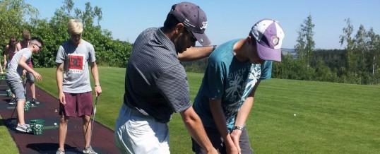 Schnupperkurs auf dem Golfplatz