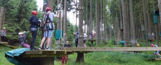 Kletterpark Rabenberg Klasse 07S Schuljahr 2015/2016