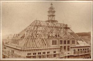 Bild aus der Bauphase.