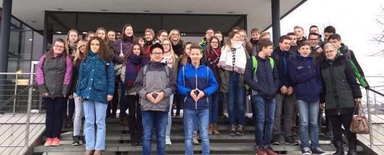 Besuch im Sächsischen Landtag