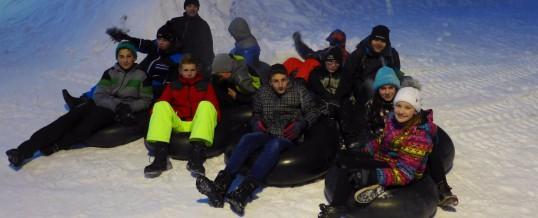"""Snowtubing"" im Erzgebirge"