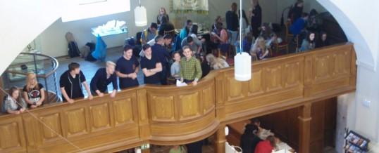 Chortreffen in der Klosterkirche Ostrov