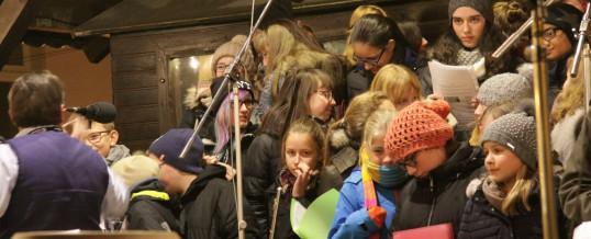 Weitere Bilder vom Chorauftritt auf dem Weihnachtsmarkt