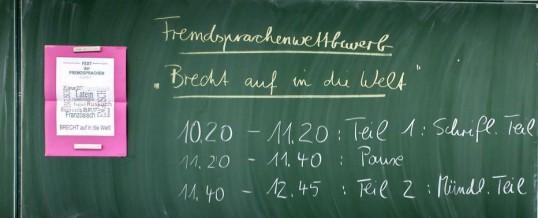 """"""" Brecht auf in die Welt"""""""