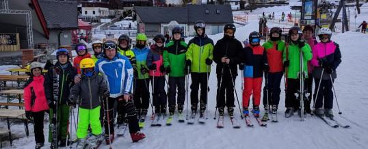 Skilager Klassen 7A und 7B