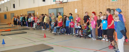 Sportfest der Brückenberg-Schule am Gymnasium