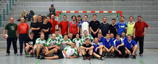 Handballturnier der ehemaligen Schüler des Gymnasiums 2013