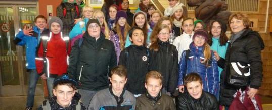 Theaterexkursion der Klasse 7c nach Zwickau