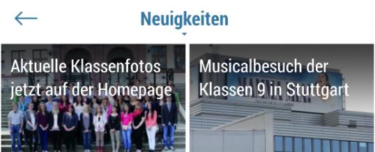 Das Gymnasium Schwarzenberg – jetzt auch als Smartphone App!