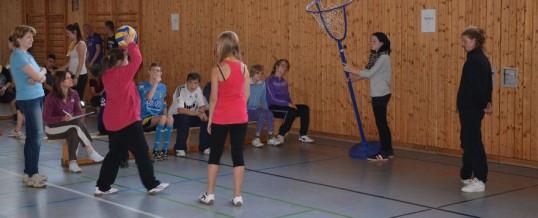 """Sportfest der """"Brückenberg-Schule"""" am Schwarzenberger Gymnasium 2014"""