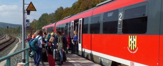 Schüler aus Bad Windsheim in Schwarzenberg
