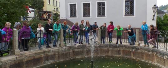 Schüler aus Bad Windsheim erkunden Schwarzenberg