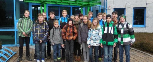 Exkursion in die Wasserwerke Schwarzenberg