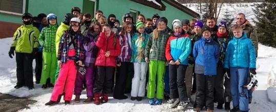 Bilder vom Skilager der Klassen 7A/B