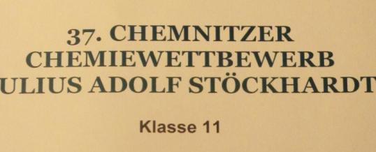 Stöckhardt-Wettbewerb Chemie Klasse 11