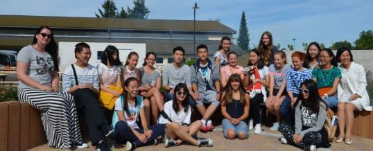 Besuch von Schülern aus China am Brecht