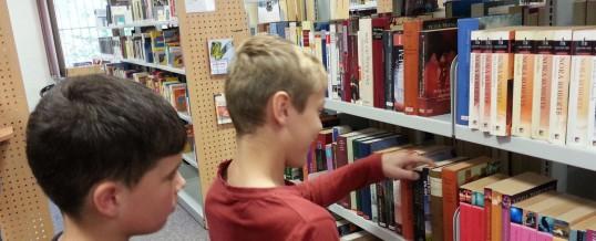 Lesen, lernen, leihen – Besuch der Stadtbibliothek Schwarzenberg