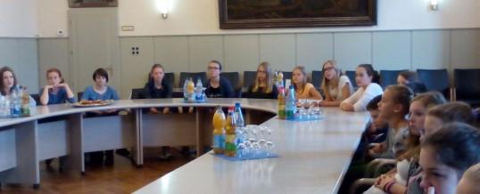Erste Bilder vom Schüleraustausch aus Bad Windsheim