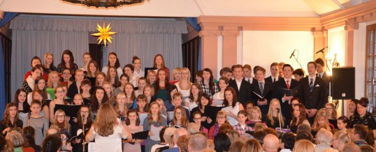Information zu den Weihnachtskonzerten des Chores des Bertolt-Brecht-Gymnasiums Schwarzenberg