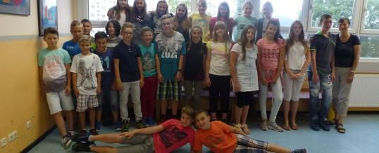 Die Klasse 6B meldet sich aus den Ferien zurück