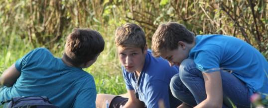 Bilder von der Biologie-Exkursion der Klasse 09B