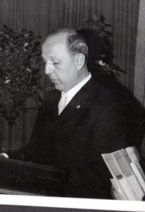 Oberschulleiter Karl Fritz Unger