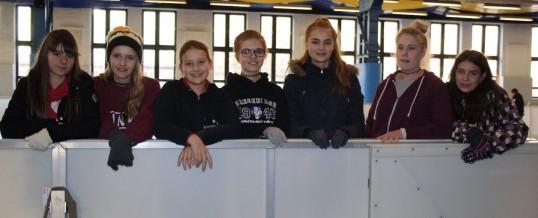 Besuch der Klasse 8A/8C im Icehouse Aue