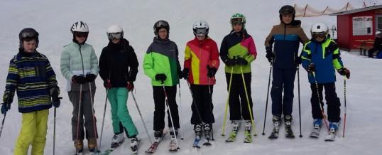 Bilder vom Skilager Klassen 7B und 7C