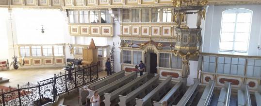 Die Erkundung der Sankt-Georgenkirche