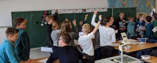 Schnuppertag am Gymnasium Schwarzenberg