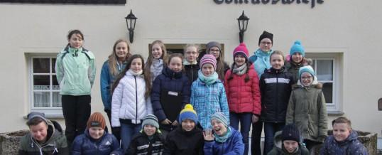 Waldexkursion nach Conradswiese