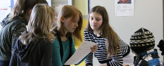 Information für Schüler und Eltern der Grundschulen