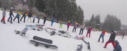 Skilager der Klassen 7A und 7B
