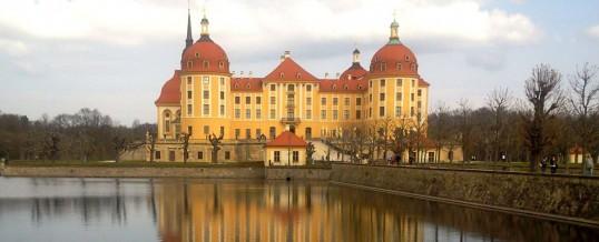 Ein Riesenhirsch-Geweih und 50 Vorspeisen – Unsere Exkursion nach Moritzburg