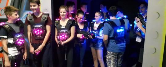 Lasertag der Klasse 9C in Chemnitz