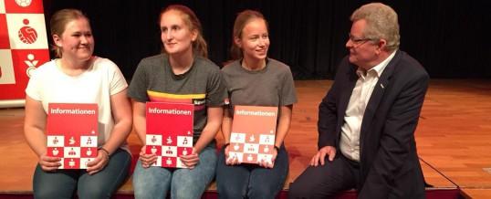 """Erster Preis beim """"Deutschen Gründerwettbewerb"""" geht an unsere Schule"""