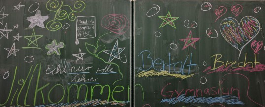 Lesenacht am Bertolt-Brecht-Gymnasium