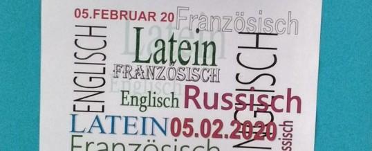"""Fremdsprachenwettbewerb in den 7. Klassen: """"Brecht auf in die Welt"""""""